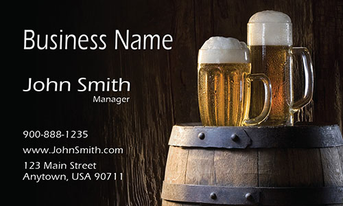 Brewing Beer Bar Business Card - Design #1001211