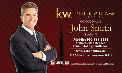 KW Broker Associate Business Card - Design #103061