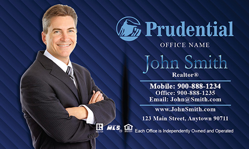 Prudential Broker Business Card - Design #105061