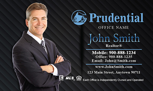 Prudential Broker Associate Business Card - Design #105062