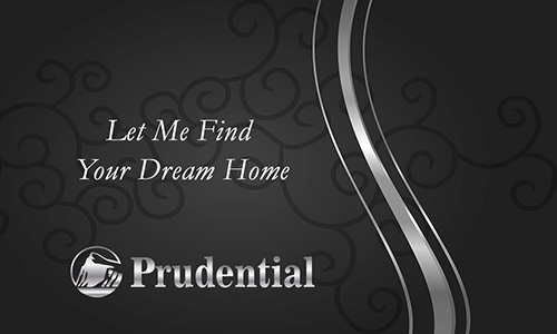 Prudential Business Card with Realtor Photo - Design #105113