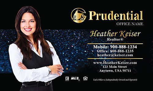 Prudential Agency Business Card - Design #105351