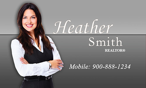 Prudential Business Card With Realtor Photo - Design #105372