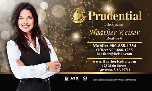 Prudential Holiday Business Card - Design #105421