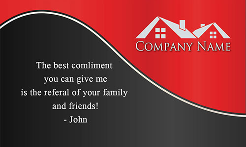 Custom Realty Business Card - Design #106132