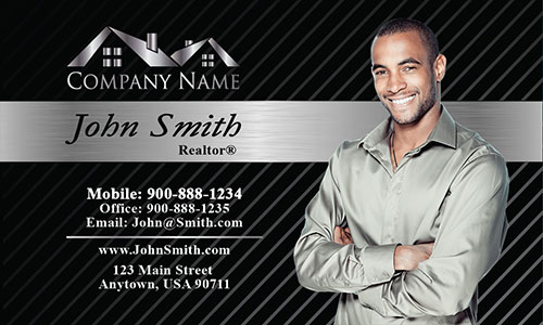 Modern Real Estate Business Card - Design #106154