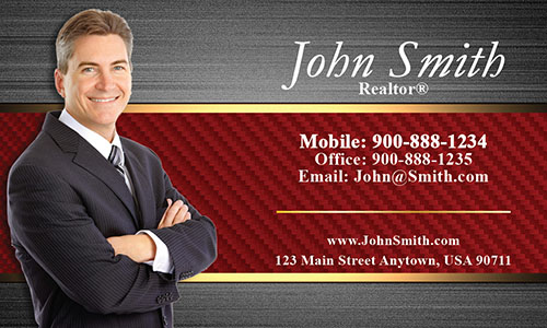 Stylish Realtor Business Card - Design #106183