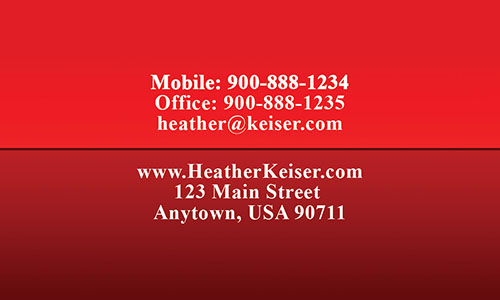 Custom Realtor Business Card - Design #106373