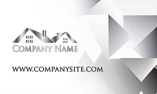 Trendy Real Estate Agent Business Card - Design #106441