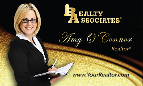 Black Realty Associates Business Card - Design #109041