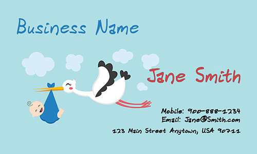 Nanny Business Card - Design #1101041