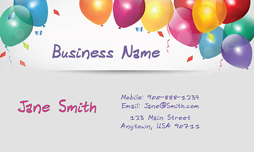 Fun Babysitter Business Card - Design #1101121
