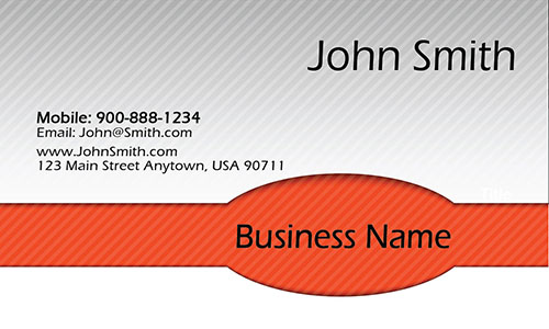 Red Personal Business Card - Design #1201934