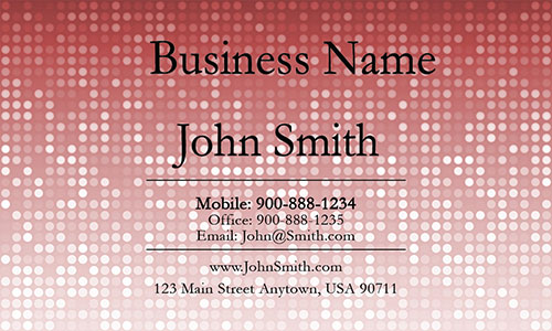 Red House Cleaning Business Card - Design #1301073