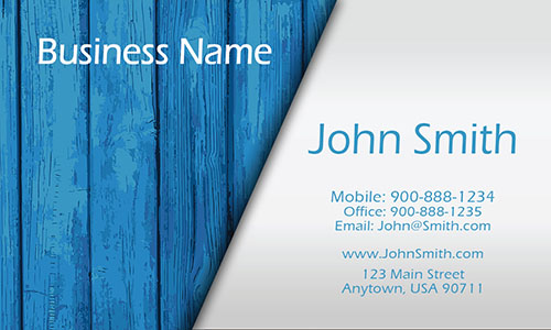 Blue Architecture Business Card - Design #1401021