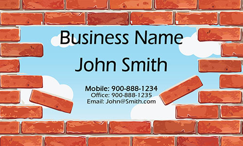 Brown Architecture Business Card - Design #1401071