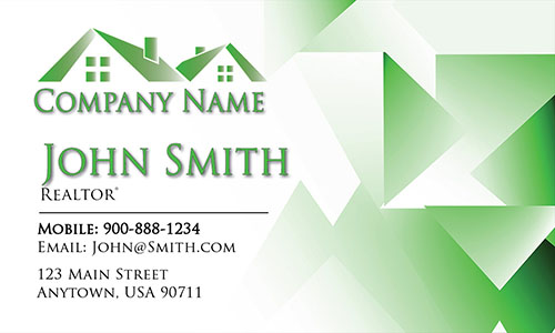 Green Architecture Business Card - Design #1401193