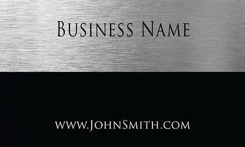 Gray Construction Business Card - Design #1501141