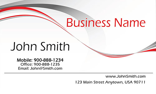 White Consulting Business Card - Design #1601091
