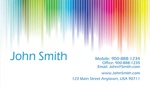 White Painting Business Card - Design #1701041