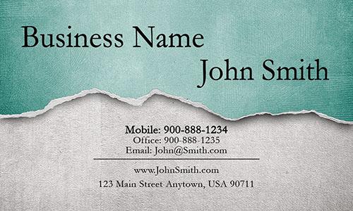 Green Painting Business Card - Design #1701064