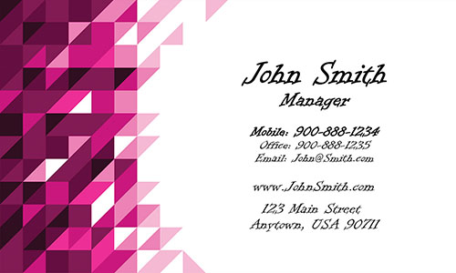 Red Painting Business Card - Design #1701072