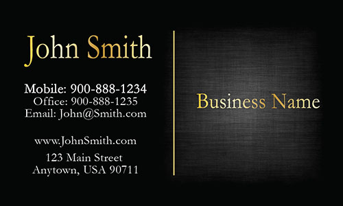 Elegant Gray Accounting Business Card - Design #2001095