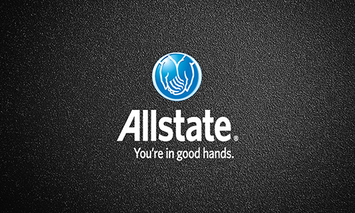 Red Allstate Business Card - Design #201042