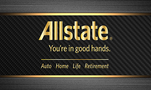 Black Allstate Business Card - Design #201171