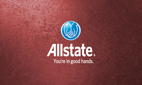 Red Allstate Business Card - Design #201273