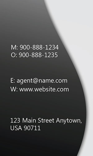 White Allstate Business Card - Design #201291