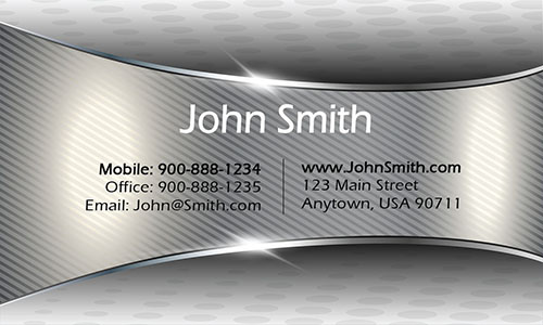 Gray Event Planning Business Card - Design #2301041
