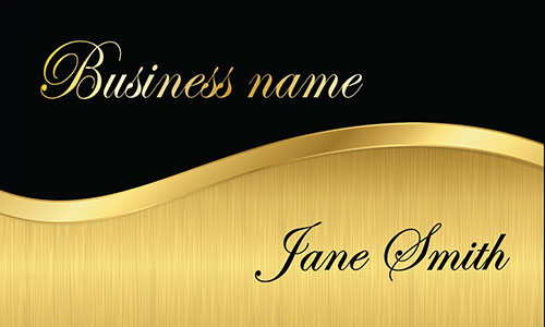 Black Event Planning Business Card - Design #2301121