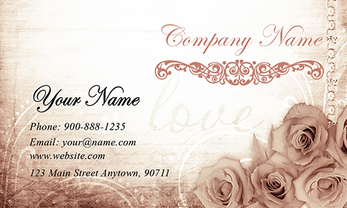 White Event Planning Business Card - Design #2301141