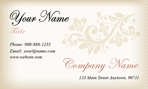 White Event Planning Business Card - Design #2301151