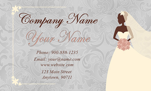 White Event Planning Business Card - Design #2301191