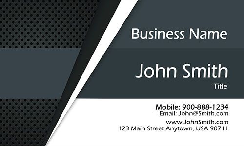 Gray Marketing Business Card - Design #2601151