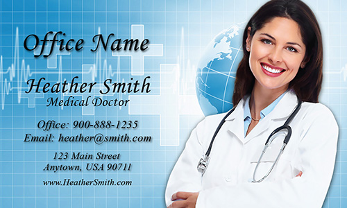 Medical and Health Care Business Card - Design #301451