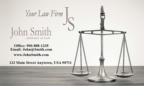 Employment Lawyer and Employees Rights Business Card - Design #401031