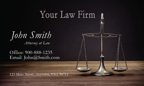 Public Interest Lawyer Business Card - Design #401271