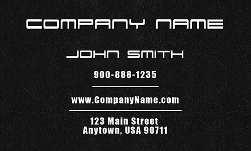 Tow Truck and Recovery Services Business Card - Design #501261