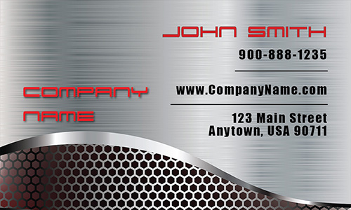 Auto Body Mechanic Business Card - Design #501271