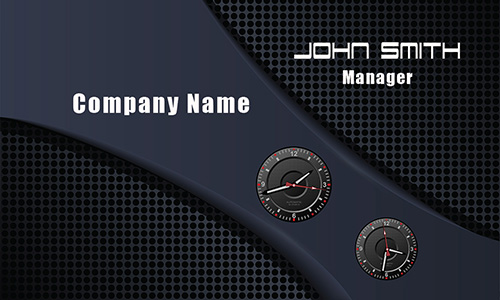 Professional Auto Detailing Business Card - Design #501281