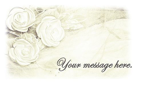 Old Paper Effect Wedding Florist Business Card - Design #701071