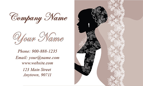 Elegant Wedding Planner Business Card - Design #701121