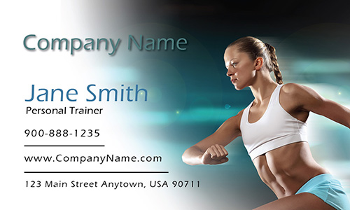 Runner Sport Business Card - Design #801191